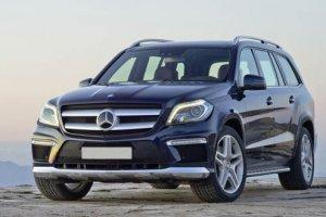 Тест-драйв Mercedes-Benz GL